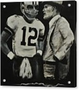 Two Of The Greastest Minds In Pro-football Acrylic Print by Robert Ballance