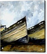 Two Old Boats Acrylic Print