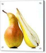Two Pears Acrylic Print