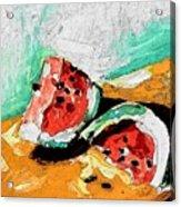 Two Piece Watermelon  Acrylic Print