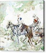 Two Riders Acrylic Print