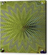 Two Saguaro Abstract #4496w3 Acrylic Print