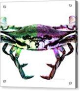 Two Sides - Duality Crab Art Acrylic Print
