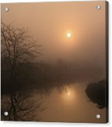 Two Suns In The Mist Acrylic Print