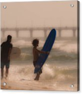 Two Surfers Acrylic Print