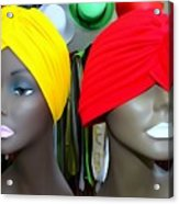 Two Turbans Acrylic Print