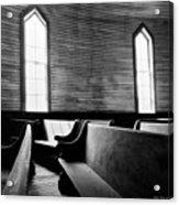 Two Window Church Acrylic Print