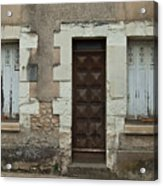 Two Windows And A Door Acrylic Print