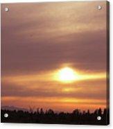 Twr - Sunset 1 Acrylic Print