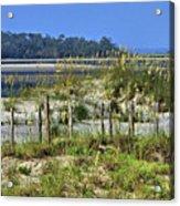 Tybee Island Inlet Acrylic Print