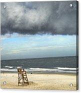 Tybee Island Storm Acrylic Print