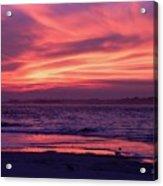 Tybee Island Sunset Acrylic Print