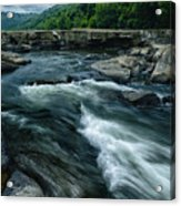 Tygart Valley River Acrylic Print
