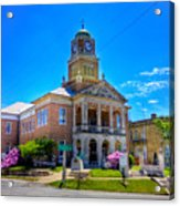 Tyler County Courthouse Acrylic Print