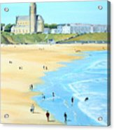 Tynemouth Beach Acrylic Print