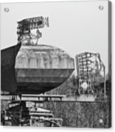 Type 85 Radar At Raf Neatishead Acrylic Print