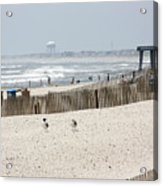 Typical Jersey Shore Afternoon Acrylic Print