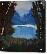 Typical Lake Acrylic Print