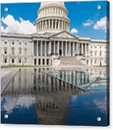 U S Capitol East Front Acrylic Print