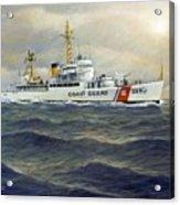 U. S. Coast Guard Cutter Castle Rock version one  Acrylic Print