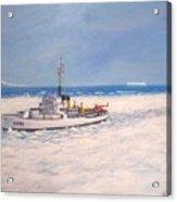 U. S. Coast Guard Icebreaker Northwind Acrylic Print