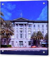 U S Custom House - New Orleans Acrylic Print