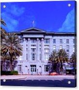 U S Custom House - New Orleans Acrylic Print