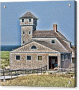 U S Lifesaving Station Acrylic Print
