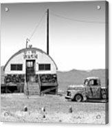 U - We Wash - Death Valley Acrylic Print
