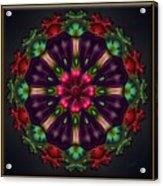 u028 Wholehearted Hibiscus Acrylic Print