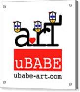 uBABE Art Wave Acrylic Print