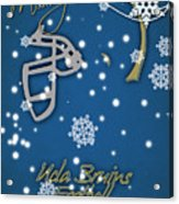 Ucla Bruins Christmas Card Acrylic Print