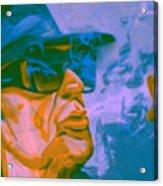 Udo Lindenberg Die Coole Socke 4 Pop Art Pur Acrylic Print