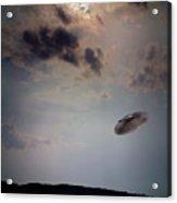 Ufo Over Lake Superior Acrylic Print