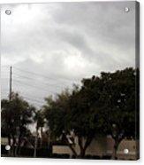Ufo Over My Neighborhood  Acrylic Print