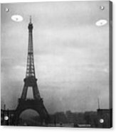 Ufo: Paris Acrylic Print