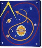 Ufo Universe Acrylic Print