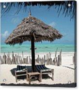 Uhuru Beach Lodge Zanzibar - Notkak Acrylic Print
