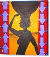 Uhuru Acrylic Print