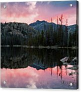 Uinta Sunrise Reflection Acrylic Print