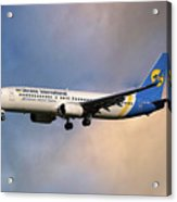 Ukraine International Airlines Boeing 737-8eh Acrylic Print