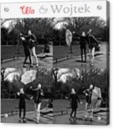 Ula And Wojtek Engagement 3 Acrylic Print