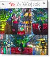 Ula And Wojtek Engagement 4 Acrylic Print