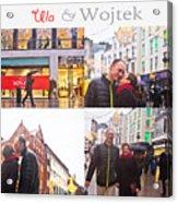 Ula And Wojtek Engagement 5 Acrylic Print