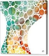 Ultra Modern Art - Colorforms 2 - Sharon Cummings Acrylic Print