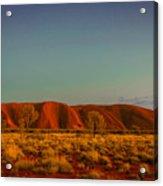 Uluru/ayers Rock Acrylic Print