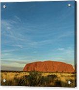 Uluru Sunset 01 Acrylic Print