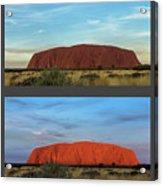 Uluru Sunset Acrylic Print