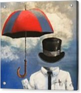 Umbrella Acrylic Print by Crispin  Delgado