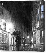 Umbrella Man I Acrylic Print